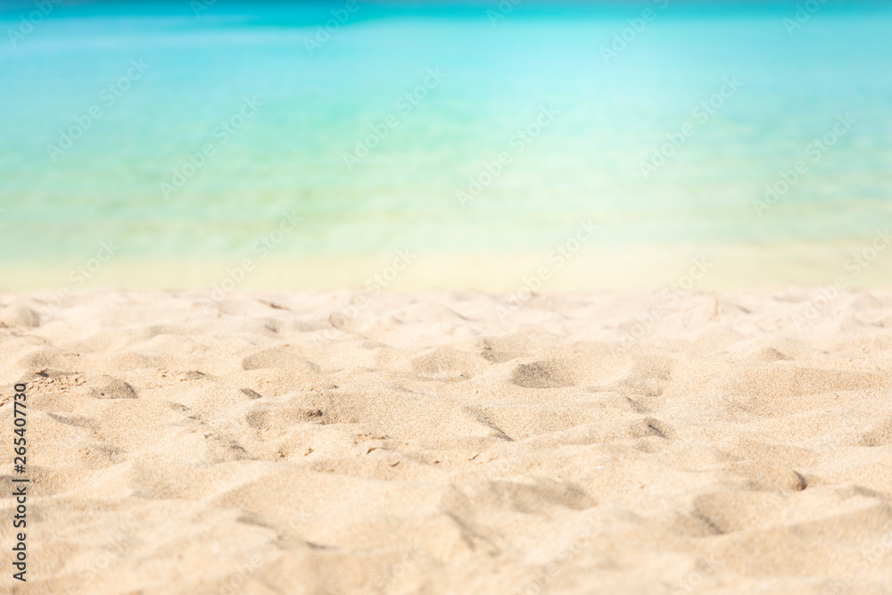Fototapety, obrazy: Tropical beach with turquoise waters