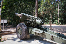 Front View Of A 155mm Vietnam ...