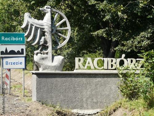 Fototapeta RACIBÓRZ-BRZEZIE-Witacz na granicy miasta obraz