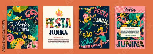 Fotografía  Latin American holiday, the June party of Brazil. Festa Junina.