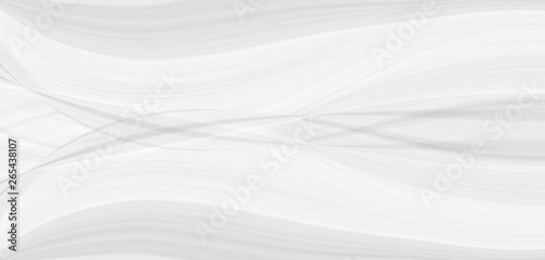 Graphic symmetrical pattern for wallpaper and packaging for various purposes. The background is gray and white with a gradient texture of stripes, lines, waves and geometric shapes. #265438107