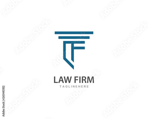 Law firm logo vector - Buy this stock vector and explore similar