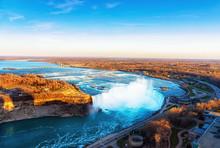 Niagara Falls Aerial View Cana...