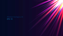 Abstract Background, Bright Ra...
