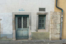 Istoric Old House Front In The...