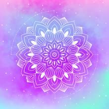 Mandala Vector Illustration. Circle Ethnic Decorative Ornament.