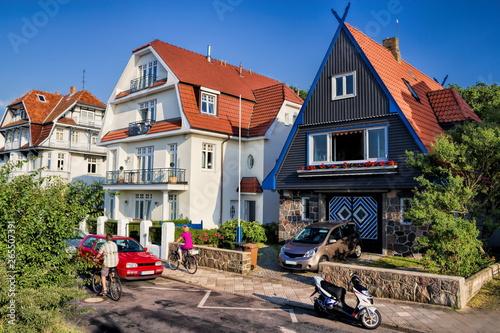 Wohnidylle in Warnemünde, Deutschland