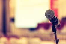 Microphone Voice Speaker In Bu...