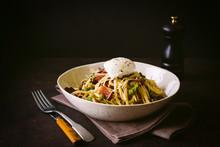 Bowl Of Pasta Carbonara