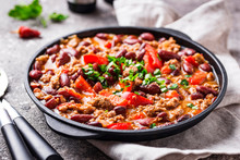 Traditional Mexican Dish Chili...