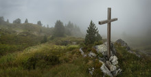 Cross, Mt. Blanc, Switzerland