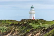 Lighthouse, Waikawa Point, New...