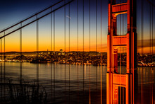 Golden Gate Bridge And San Fra...