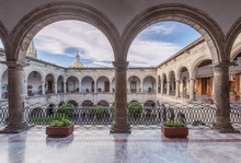 Arches And Courtyard Of Govern...