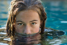 13 Year Old Girl In Swimming P...
