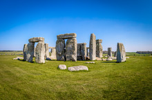 View Of Stonehenge In Summer, ...