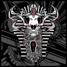 Anubis God Of The Dead,with Snake - Vector