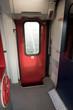 Train interior exit door