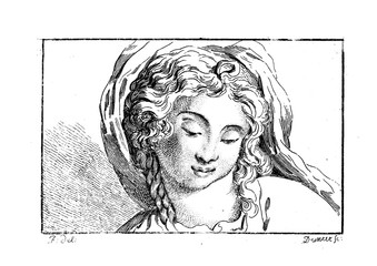 Portrait of Virgin Mary