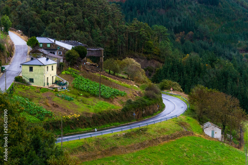 Foto op Canvas Kanaal Taramundi, Asturias, Spain