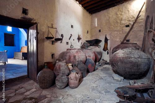 Fototapeta Wnętrze starej chaty obraz