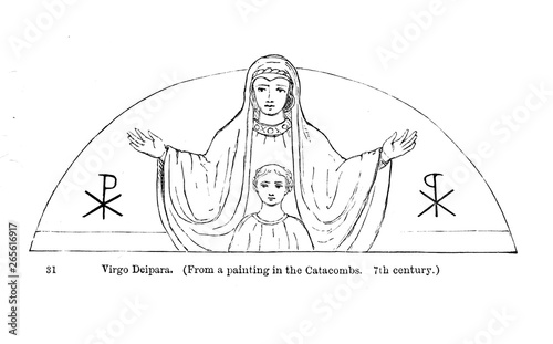 Obraz na plátne Virgin mary