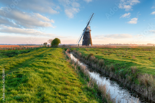 Halvergate Windmill near Great Yarmouth Canvas