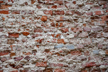 Destroyed Brick Wall Of The Ol...