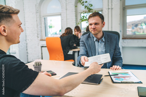 Photo Job interview