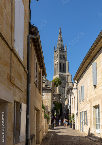 Photo Rue de la Cadene is street leading down to the center of the town from the Porte of Cadene