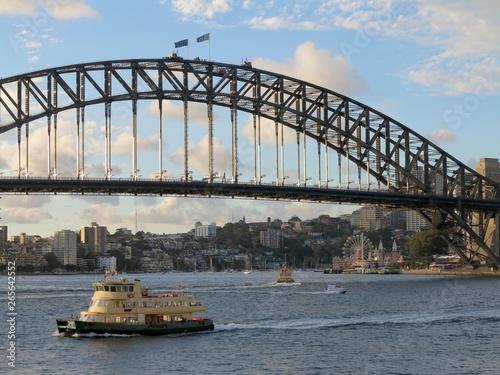 Staande foto Sydney Harbour Bridge Early Morning Circular Quay Sydney
