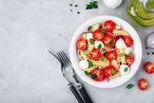 Italian Pasta Salad With Tomat...