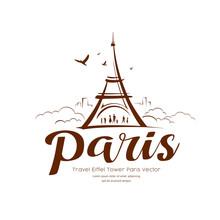 Eiffel Tower Paris Sketching V...