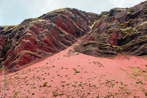 Papiers peints Bordeaux red rocks landscape