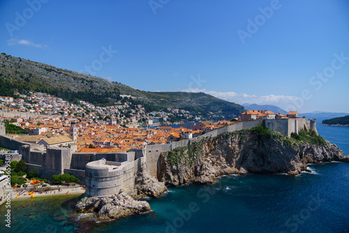 In de dag Mediterraans Europa ドブロブニク 城壁