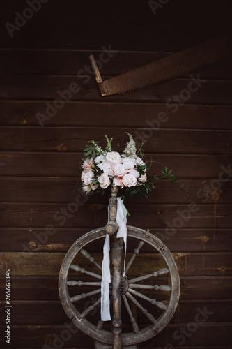 Foto op Plexiglas Amazing wedding flowers. Wedding bouquet.