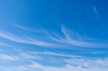 Blue Sky With Cirrus Clouds Pa...