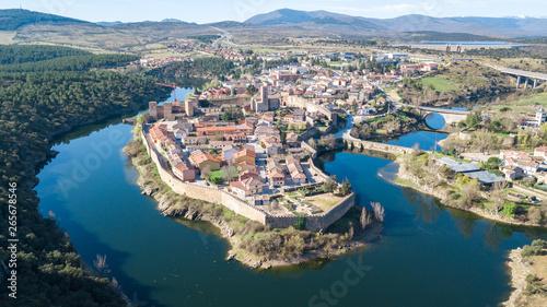 medieval town of buitrago de lozoya, Spain Canvas Print