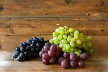 There Different Kinds Of Grape...