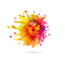Abstract Colored Background Wi...