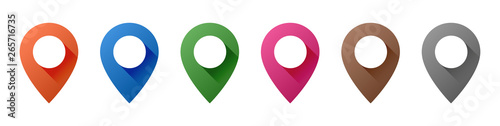 Photographie Map Pin Icons