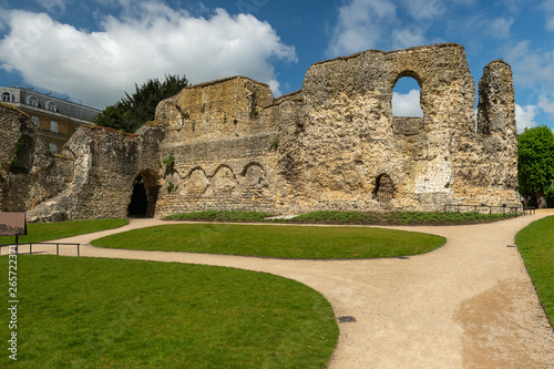 Abbey Ruins, Reading Berkshire United Kingdom Canvas Print