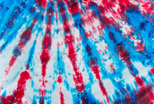 Red White And Blue Tie Dye Fab...