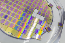 Silicon Wafer With Microchips ...