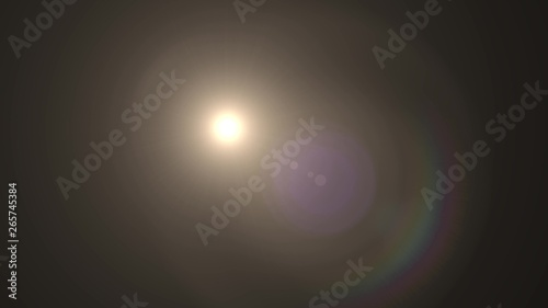 In de dag Theater lights for logo optical lens star flares shiny illustration background new quality natural lighting lamp rays effect dynamic colorful bright stock image