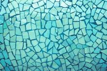 Broken Tiles Mosaic Seamless Pattern.