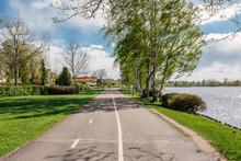 Path By The River Klarälven On Sundsta In Karlstad