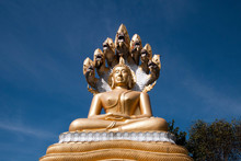 Tha Ton Thailand, Giant Buddha...