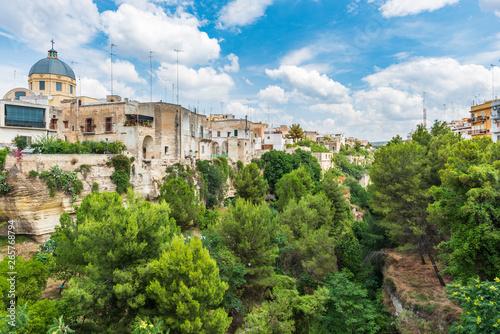 Fotografie, Obraz Massafra and its ravines