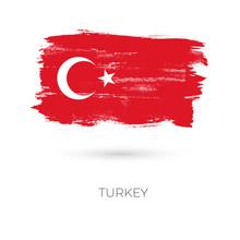 Turkey Colorful Brush Strokes ...